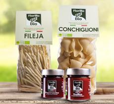 Organic artisanal italian pasta